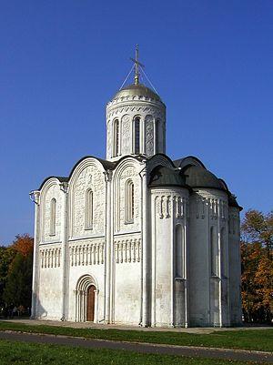 Дмитриевский собор во Владимире в Владимире — подробная информация с фото