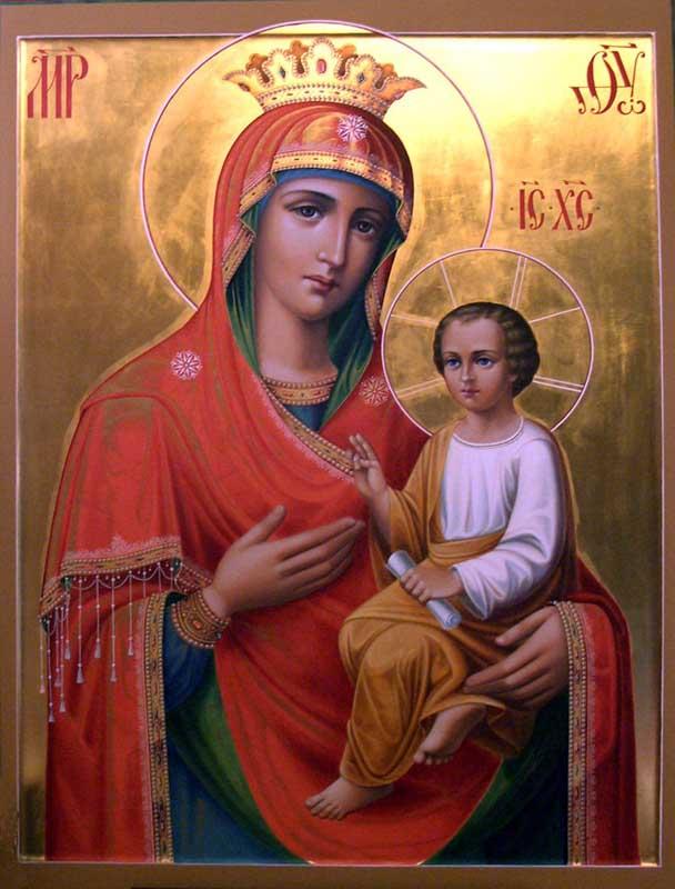 Молитва жировичской иконы божией матери