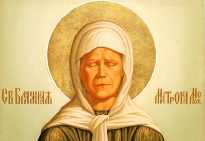 Молитва от болезней святой матроны
