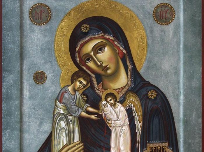 Молитва за детей во чреве носимых