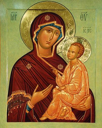 Молитва иконе тихвинской божьей матери текст