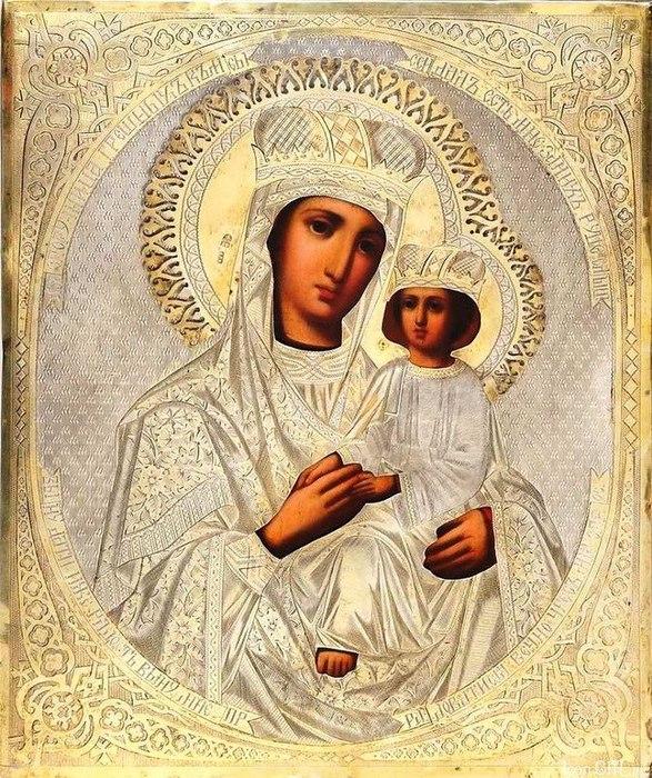 Молитва богородице споручница грешных читать