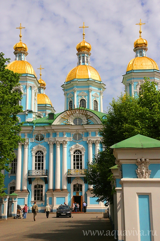 Николо-Богоявленский Морской собор Санкт-Петербург: история, адрес
