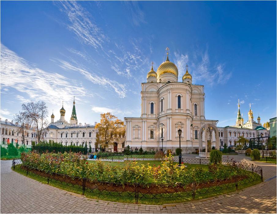 Новодевичий монастырь на карте