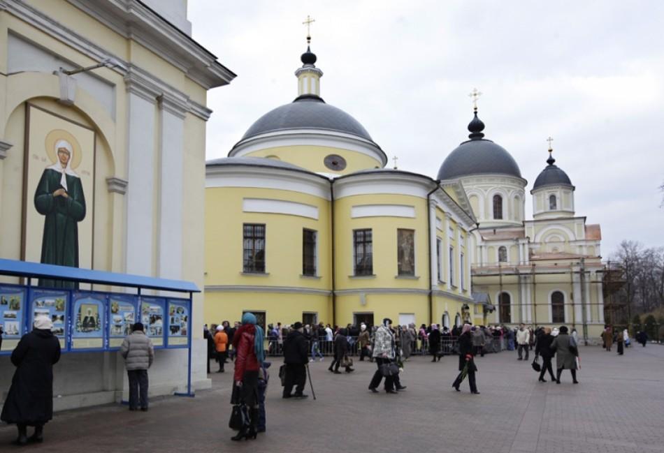 Мощи святой Матроны Московской 🚩 в Москве
